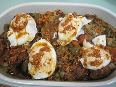 Menestra de verduras riojana clásica. Ver receta: http://www.mis-recetas.org/recetas/show/37174-menestra-de-verduras-riojana-clasica