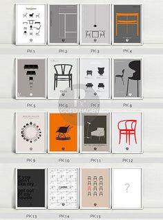 Fantastisch Eames Office Poster Mitte Jahrhundert Moderne Von WeaversofSouthsea |  Graphic Art | Pinterest | Typografie Logo, Grafiken Und Grafik Design