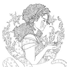 Scarlet coloring page from the lunar chronicles coloring