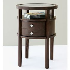 bedside table for me, painted in BM glossy taffeta green 843