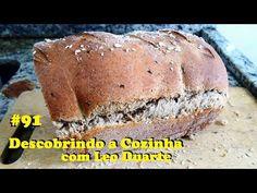 PÃO INTEGRAL 3s: Simples, Saudável e Saboroso! [ Descobrindo a Cozinha #91 ] - YouTube