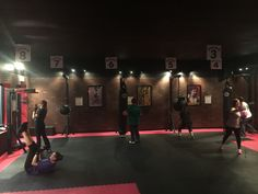9Round is rockin tonight! Get off the couch and in here for your free workout! #9Roundcatskill