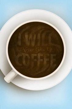 We will never give up coffee. We couldn't if we tried! #CoffeeLovers