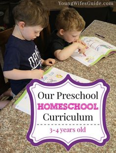 Our preschool homesc