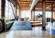 Spacious and Exclusive Detroit Penthouse Charms With Its Industrial Interior Design