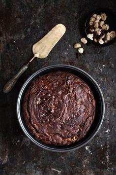 torta di farina di castagne