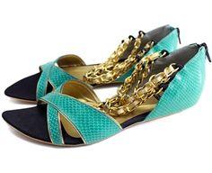 MARLIN BLUE - Louloux - Sapatos Colecionáveis