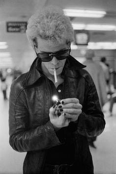 Our Fave Rockers, Revealed -Lou Reed