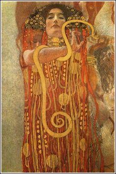 Gustav Klimt, Hygeia  on ArtStack #gustav-klimt #art