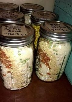 Turkey/or Chicken Pot Pie Soup- Meal in a Jar - Thrive Life Recipes