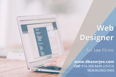 Reasons to hire a #web #designer for law firms The best #law #firm #website is no less powerful than a business website with a pack of essential user-friendly features. You can distribute free #legal resources in downloadable PDF format through the website. http://dbanerjee.com/web-designer-for-law-firms-and-lawyer/