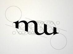 I Love Ligatures / Misztótfalusi Museum by Balint Bernhardt (via Dribbble) neat Mm Logo, Typography Logo, Graphic Design Typography, Lettering Design, Hand Lettering, Typography Inspiration, Logo Design Inspiration, Logos, Calligraphy Cards