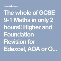 The whole of GCSE Maths in only 2 hours! Higher and Foundation Revision for Edexcel, AQA or OCR Math Quotes, Math Memes, Math Humor, Math Facts, Math Classroom, Kindergarten Math, Math Logo, Gcse Maths Revision, Math Wallpaper