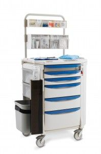 The Benefits of Mobile #Anesthesia Carts  #Healthcare #MetroShelving