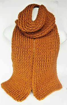 Check out this item in my Etsy shop https://www.etsy.com/uk/listing/541457985/mustard-yellow-scarf-chunky-knit-scarf