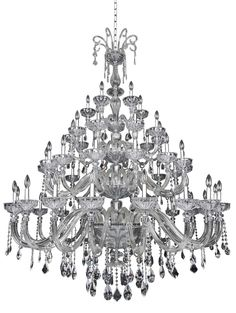 Clovio 50 Light Crystal Chandelier