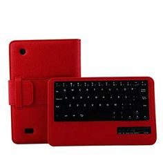 Removable Wireless Bluetooth Keyboard+Leather Case, Ounice Slim Leather Stand Case Cover for Amazon Kindle Fire HD 7 2015 7 Inch (Red) #Removable #Wireless #Bluetooth #Keyboard+Leather #Case, #Ounice #Slim #Leather #Stand #Case #Cover #Amazon #Kindle #Fire #Inch #(Red)