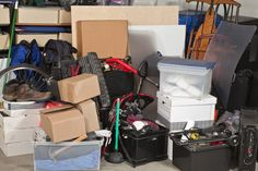 "Are you wondering ""How do I start decluttering?"" or ""How do you get rid of clutter? Not to worry, here are 50 things you can throw away today so you can start to declutter fast! Ottawa, Junk Removal, Waste Removal, Getting Rid Of Clutter, Self Storage, Garage Organization, Organizing Tips, Organization Ideas, Organising"