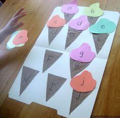 JDaniel4's Mom: Preschool Activities- Ice Cream Games {Read.Explore.Learn} - cute ideas for an Elephant and Piggie story