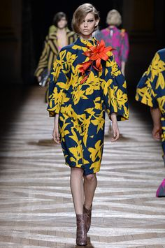 Dries Van Noten Fall 2014 Ready-to-Wear Collection Slideshow on Style.com