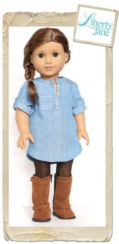 "Coronado Shirtdress and Top 18"" Doll Clothes"
