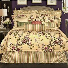 Rose Tree Limoges 4pc Comforter Set  at HSN.com.