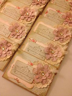 "Sweet wedding invites... I would even love something similar to this, maybe a different saying like, ""Once upon a time"" for a little girls princess themed birthday. http://jennypie5.etsy.com"