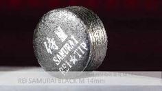 레이 사무라이 블랙 M 당구 팁 REI SAMURAI Black billiards cue tips M