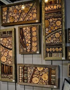 15 Crafty Wood Slice Projects You'll Want For Your Home is part of diy-home-decor - Make interesting and useful crafts out of wooden slices They take little efforts to make but brings a significant impact into your home! Diy Wand, Wood Slice Crafts, Wood Crafts, Rustic Crafts, Recycled Crafts, Diy Wood Projects, Woodworking Projects, Crafty Projects, Furniture Projects