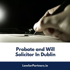 Looking for hiring a probate & wills solicitor in Dublin? Not sure where to go and how to choose the right one? Not to worry, go online, make a thorough research and get the right one for your specific needs. You Can Do, Are You The One, Your Demise, Common Myths, Go Online, Make A Plan, Personal Injury, Dublin Ireland, Your Family