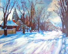 Custom Landscape Painting  Original Acrylic on by BethanyBryant, $250.00