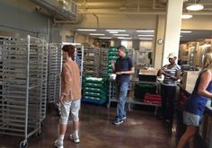 Our Thursday distribution volunteers work hard to make sure clients get the meals they need every week.