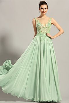 eDressit Sleeveless Embroidery Bodice Evening Dress Formal Gown (00153704)