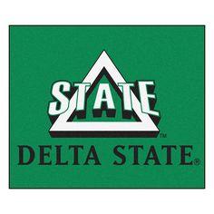Delaware State Hornets NCAA Tailgater Floor Mat (5'x6')