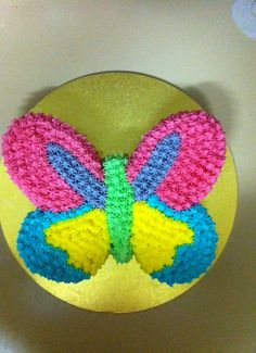 Pastel Butterfly Cake