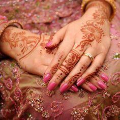 Bridal mahndi