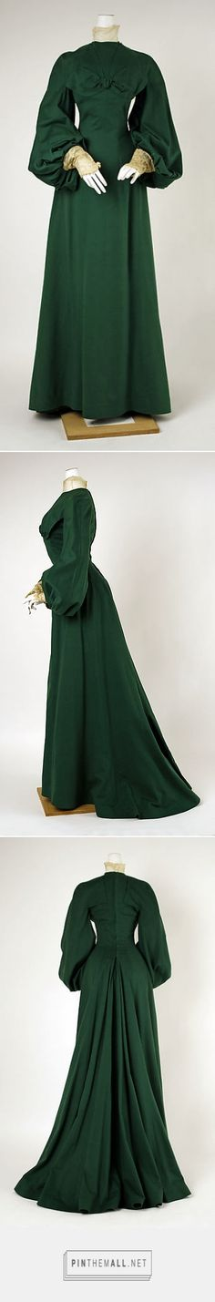 Walking dress by House of Worth 1900 French | The Metropolitan Museum of Art