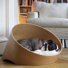 Canap luxe pour chien covo ch ne clair dog cat design for Canape pour chien