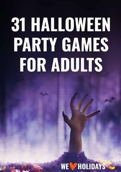 31 fun halloween party games for adults - Spiel Halloween Designs, Trendy Halloween, Adult Halloween Party, Halloween 2019, Halloween House, Happy Halloween, Halloween Drinking Games, Halloween Games Adults, Halloween Party Activities
