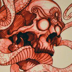 Image of Tattoo Culture Prints Jeff Gogue, Flash Sketch, Skull Tattoos, Sketch Design, Tattoo Images, Sketches, Culture, Piercing Ideas, Tattoo Flash