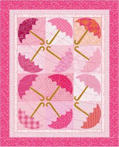 Baby Quilt Pattern Umbrella Quilt