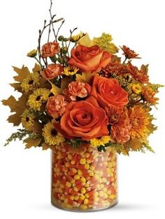 A Sweet Floral Gift| Autumn Flowers | Columbus | Florists | Ohio