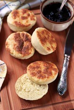 Proziaki – bułeczki z patelni | Arabeska Bread, Food, Recipe, Brot, Essen, Baking, Meals, Breads, Buns