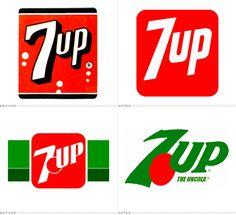 Mundo Das Marcas: 7 UP Logo Design Love, Pop Design, Logo Design Inspiration, Template Free, Logo Template, Mb Logo, Corporate Logos, Brand Icon, Sales And Marketing