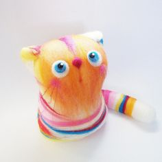 Nicole, the Candy Kitten by fingtoys, via Flickr