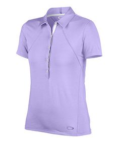 Another great find on #zulily! Wisteria Martin Short-Sleeve Polo #zulilyfinds