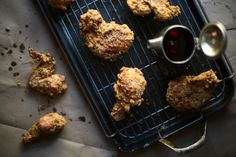Maple-Brined Smoked Fried Chicken
