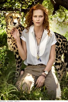 Safari Fashions - How to Wear African Patterns and Prints