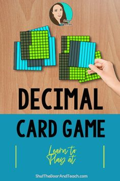 Learn more about teaching decimals. Get ideas for anchor charts and games. Click to read on Shut the Door and Teach. #math #upperelementary $ Upper Elementary Resources, Elementary Math, Math Literacy, Math Classroom, Teaching Decimals, Fourth Grade Math, Fun Math Games, Common Core Math, Teacher Blogs