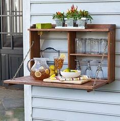 Outdoor picnic station